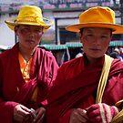 Buddhist chic by Jenny Hall