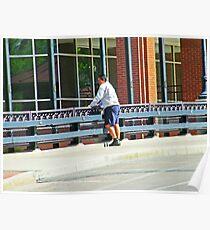 Man on the Bridge Poster
