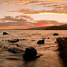 myponga sunrise by adouglas