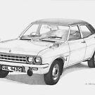 Vauxhall Ventora 1969 by Steve Pearcy