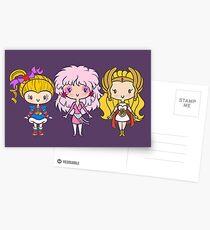 Lil' CutiEs - Eighties Ladies Postcards