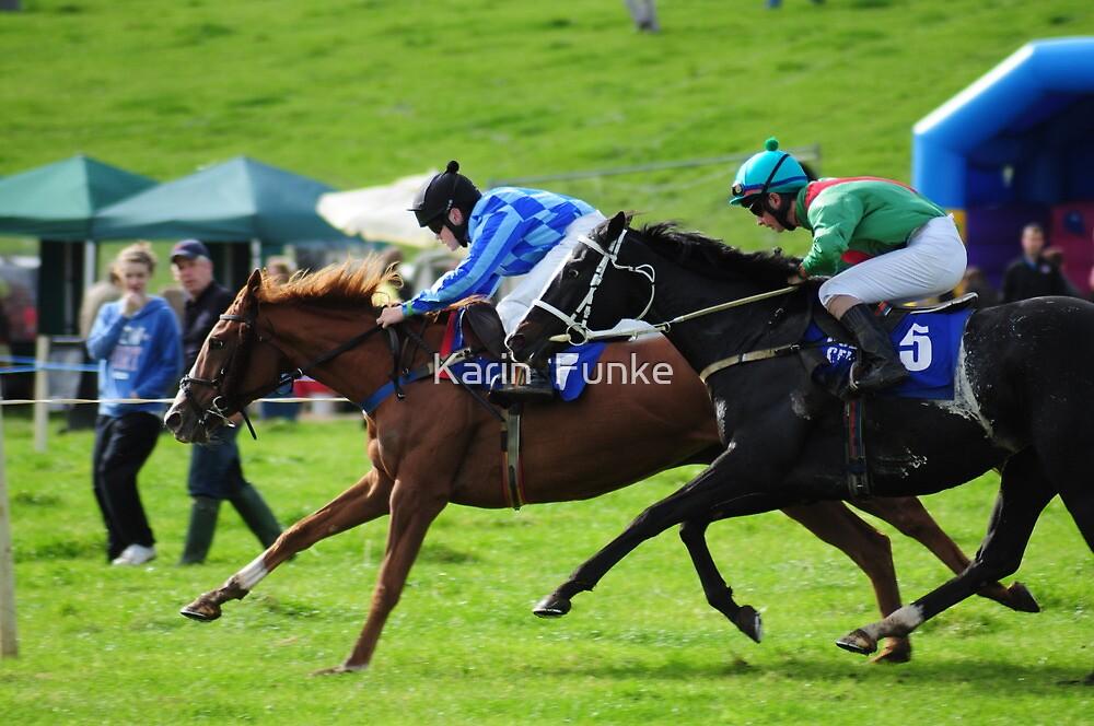 Ballyvaughan Races 2010 - Head to Head by Karin  Funke