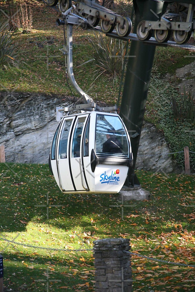 Solo Gondola Queenstown Nz By Sheryle Griffiths Redbubble