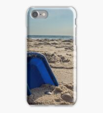 Shovel in the sand iPhone Case/Skin