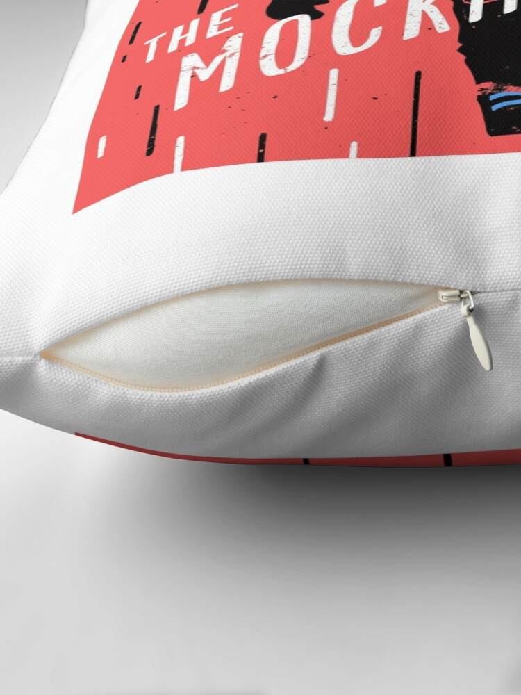 Alternate view of The Mockingcast Throw Pillow