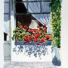 Café Window by Ann Mortimer