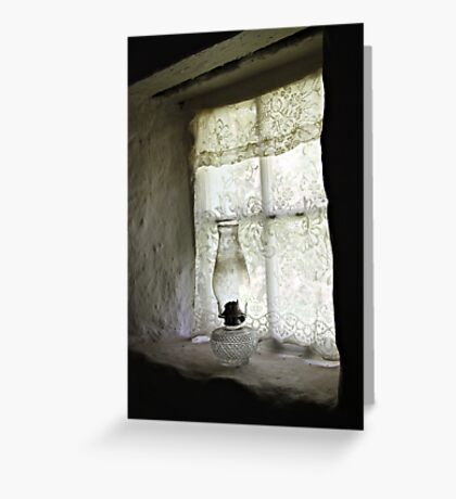 Window Light Greeting Card