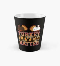 Savvy Turtle Turkey Lives Matter Tall Mug