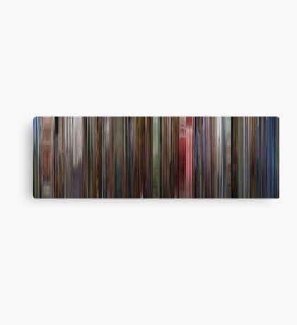 Moviebarcode: The Shining (1980) Canvas Print