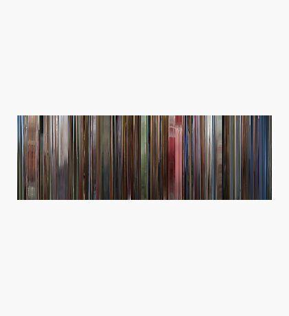 Moviebarcode: The Shining (1980) Photographic Print