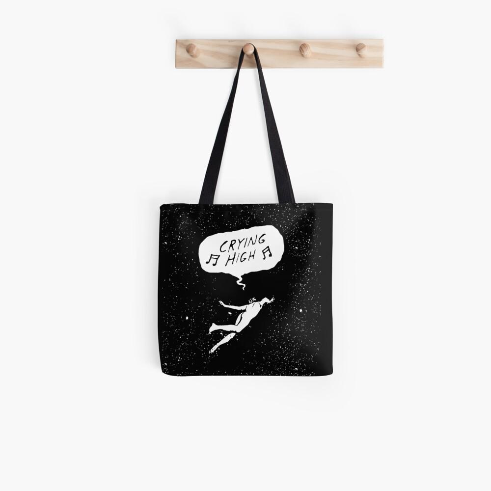 Crying High Black Tote Bag