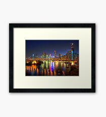 Brisbane • Queensland • Australia Framed Print