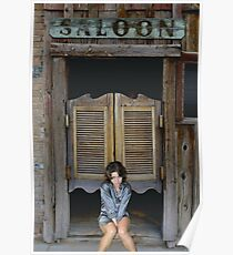 Katey's Saloon Poster
