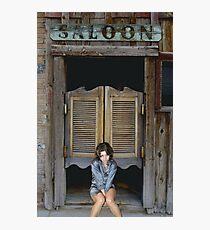 Katey's Saloon Photographic Print