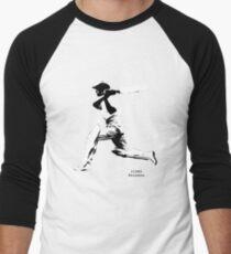 Iconic Stars Don Bradman Men's Baseball ¾ T-Shirt