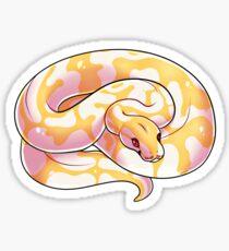 Albino Ball Python V2 Sticker
