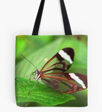 Open Wings Glasswing - Greta Oto Tote Bag