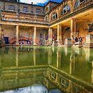 The Great Bath, in Bath, U.K. by NeilAlderney
