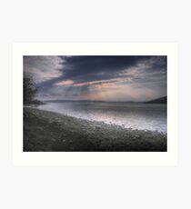 Applecross Sunset Art Print