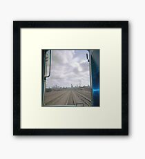 All Aboard the Holga Train  Framed Print