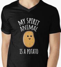 My Spirit Animal Is A Potato V-Neck T-Shirt