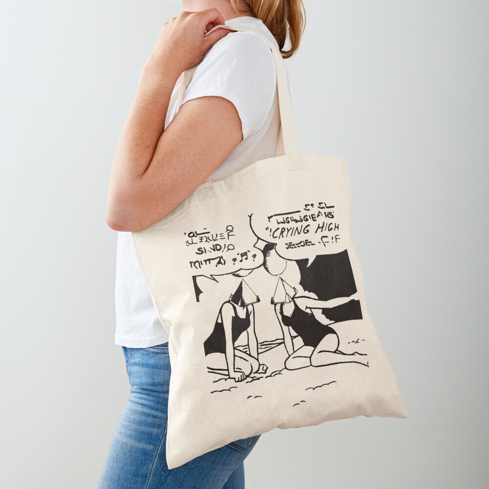 Crying High Beach Party Tote Bag