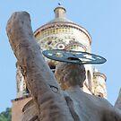 Statue of Sant' Andrea, Amalfi, Italy by Michael Irrera