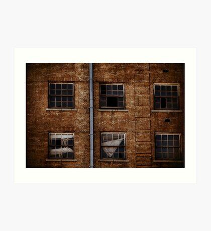 Baker Hotel Windows Art Print