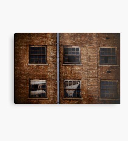 Baker Hotel Windows Metal Print