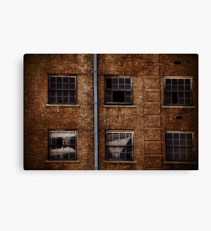 Baker Hotel Windows Canvas Print