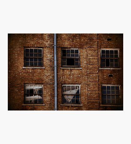 Baker Hotel Windows Photographic Print