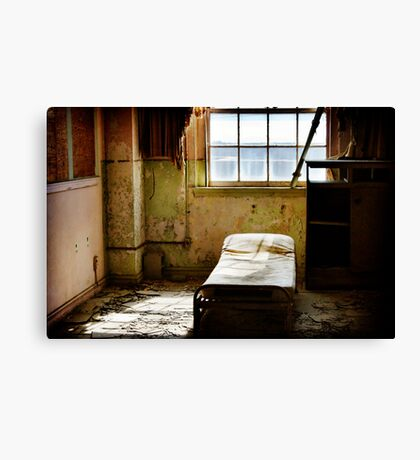 Room at the Baker Hotel Canvas Print