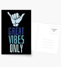 Great Vibes Only Postcards