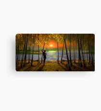 Sunset Emotions Canvas Print
