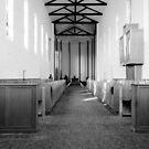 Abbey of Gethsemani - B&W by Mary Carol Story