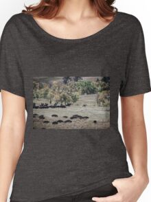 Buffalo Roundup 2 Women's Relaxed Fit T-Shirt