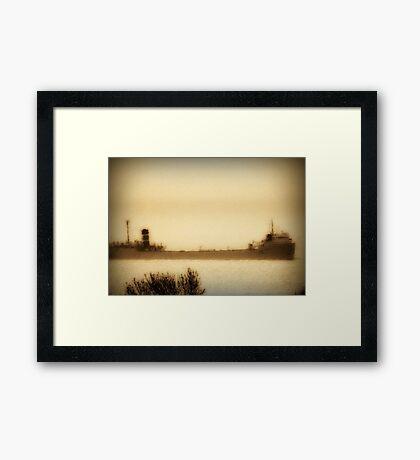 Ghost Ship ©  Framed Print