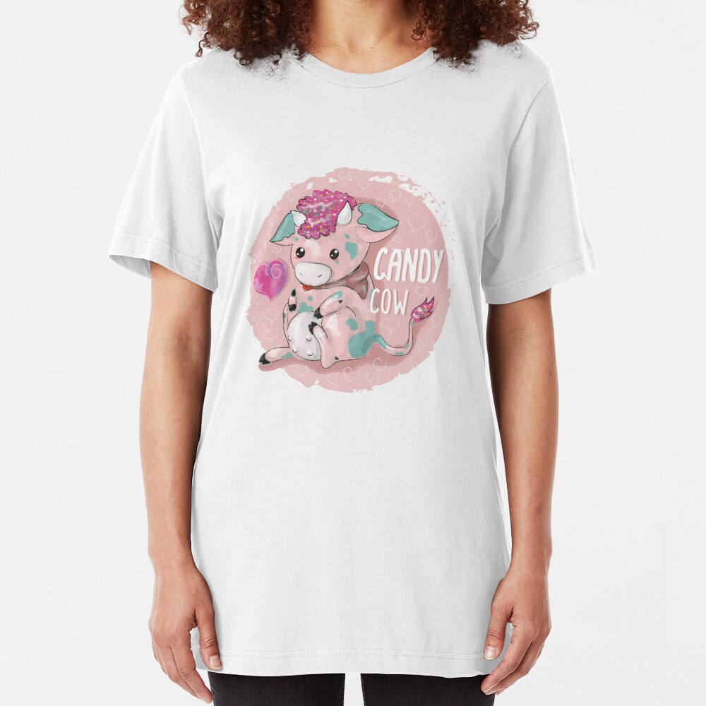 candy Cow Slim Fit T-Shirt