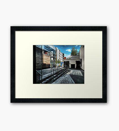 Modern Architectural Framed Print
