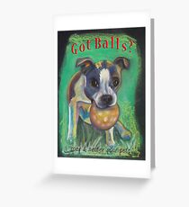 Boston Terrier - Spay/Neuter Greeting Card