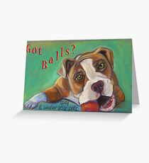 Bulldog - Spay/Neuter Greeting Card