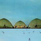 Geyser by Retro Collage