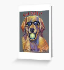 Golden Retriever - Spay/Neuter Greeting Card
