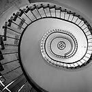 Stairs in Gallerie Vivienne by Victor Pugatschew