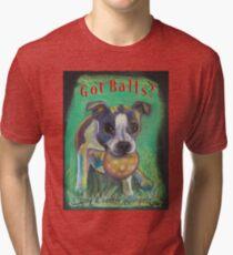 Got Balls? Boston Terrier Tri-blend T-Shirt