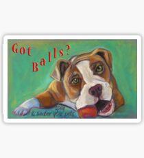 Got Balls? Bulldog Sticker