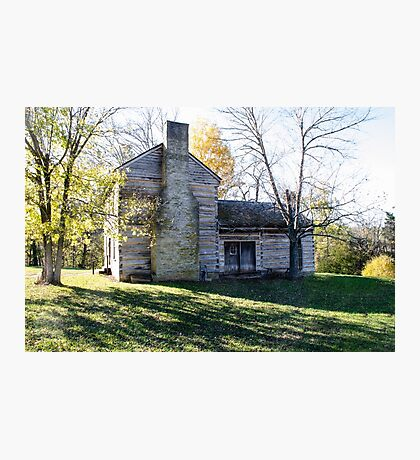 Abraham Lincoln's Birthplace Photographic Print
