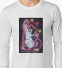 Got Balls? Juggling Cat Long Sleeve T-Shirt