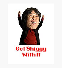 Get Shiggy With It Photographic Print