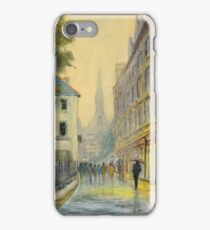 Rainy Day In Oxford England iPhone Case/Skin